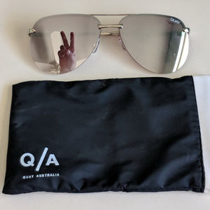 NEW QUAY Sunglasses - The Playa Mirrored Aviators